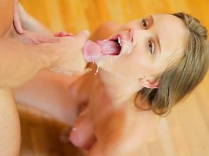 Teasing Teen Finally Gives Him Her Soaking Wet Cunt