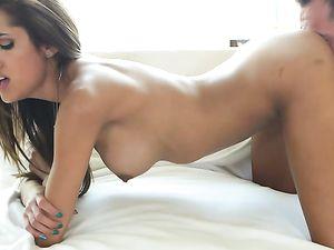 Beautiful Latina Cocksucker Wants His Dick Inside Her