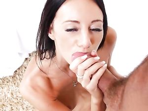 Tight Brunette Beauty Licked And Fucked Passionately