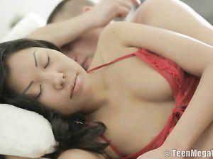 Asian Lingerie Teen Fucked In Her Slutty Ass