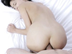 Ass Up Teenage Babe Fucked In The Ass From Behind