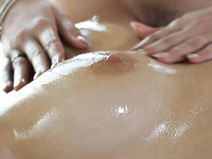 Oiled Massage Foreplay In A Hardcore Threesome