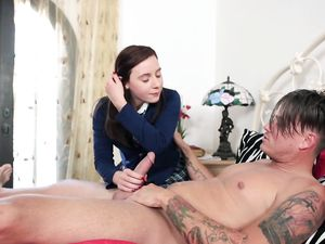Sweet Religious Teen Gets Dirty With Anal Sex