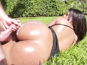 Pool Sex With The Bent Over Latina And Her Huge Ass