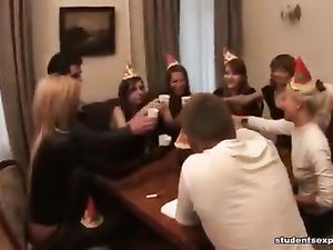 Party Girls Have An Orgy With The Hot Guys They Love