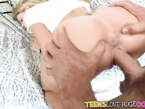 Bent Over Jessa Rhodes Fucked Deep By A Big Dick