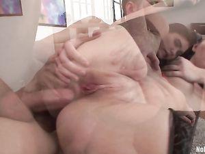 Relentless Anal Fucking Of A Slut In Stockings