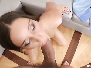 Sex Toy And A Cock Up The Asshole Of A Teen