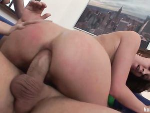 Ass To Mouth Teens Both Butt Fucked By His Dick