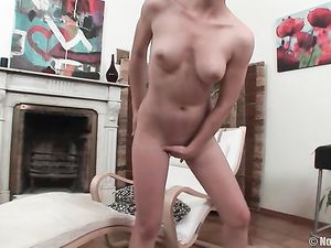 Teen Spinner With Sexy Tits Loves Toys And Cock