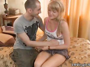 His Seduction Techniques Work On A Cute Teen Girl