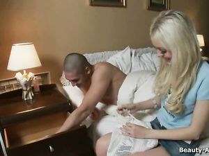 Hot Young Blonde Fucked In Her Slutty Asshole