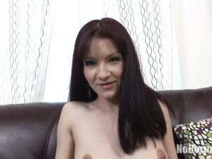 Russian Girl In Stockings Fucked In Her Whore Ass
