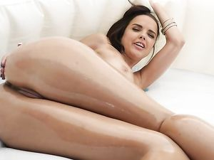 Dillion Harper Worships Big Cock In The Grass