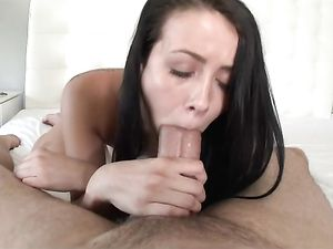 Tiny Titties Girl Rides Big Cock To A Thick Creampie