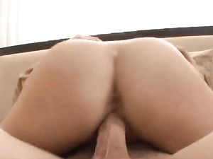 Small Titty Chick Climbs On The Cock And Rides Wildly