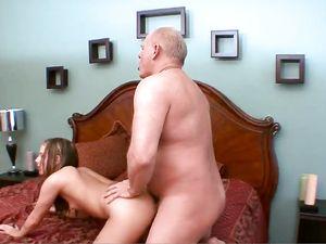 Big Cock Grandpa Fucks His Meat Into A Slutty Teen