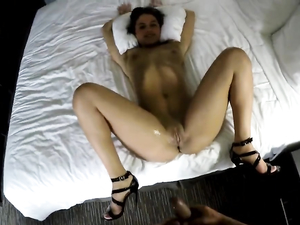 Curvy Ass Girl Rides A Hard Cock In A Pov