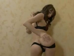 Busty Brunette Fingering Her Tight Pussy