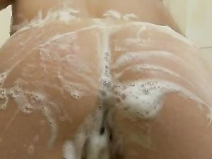 Showering Makes Young Blonde Very Horny