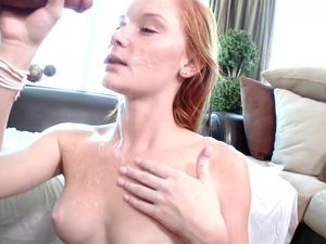 Pale Redhead Loves Sucking And Pounding