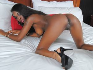 Saggy Tits Black babe Gets To Pleasure Her Man