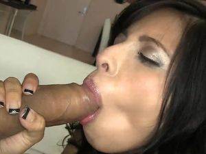Pretty Chick Sucks And Rides His Cock For A Facial
