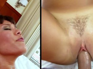 Sweet Filipina Girl In The Hotel Room Rides Hard