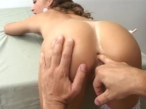 Bending Over And Butt Fucking A Pretty Teenage Slut