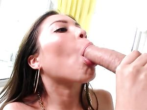 Lorraine Mack Plays With His Cumshot After Hot Sex