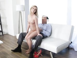 19 Year Old Fucks The Casting Agent Passionately