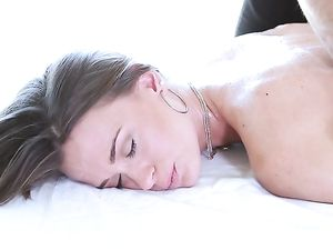 Skinny Kacy Lane Is Horny For His Big Cock