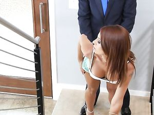 Wicked Slutty Outfit Seduces Him Into Fucking Her Ass