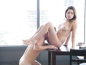 Stunning Melissa Moore Lovingly Sucks Hard Cock