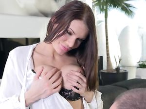 Business Seductress In A Sexy Skirt Fucked Up The Ass
