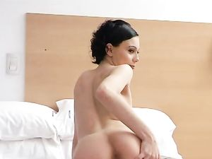 Cutie Gives Her Latina Ass To Him For Doggystyle Anal