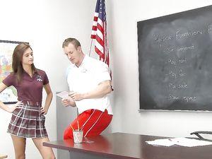 Presley Dawson Is A Lean Hardcore Schoolgirl Fantasy