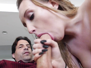 Prim Young Blonde Fucks The Big Dick Dad