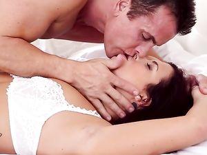 Bedroom Flirtations And Passionate Hardcore Fucking