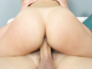 Adorable Girl Finds Joy In Fucking His Huge Cock