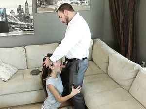Teen Slut Gets It Rough From The Older Guy