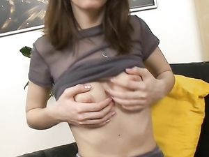 Sweet Slut Bends Over For Sexy Dildo Fucking