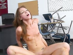 Sexy Student Fucked Hardcore After School