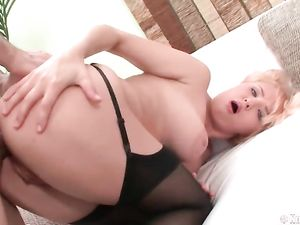 Rimmed And Fingered Asshole Fucked From Behind