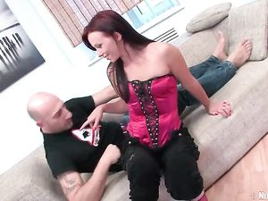 Beauty Goes Home With Him For Double Penetration Sex