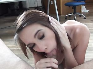 Stripping CeCe Capella Fucks In The Casting Office